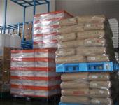 被災地への支援物資の様子