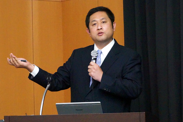 国立大学法人岐阜大学 工学部機械工学科 准教授(博士)松下光次郎様