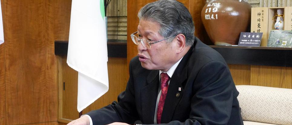 神埼市長が語る 地域貢献・地元採用