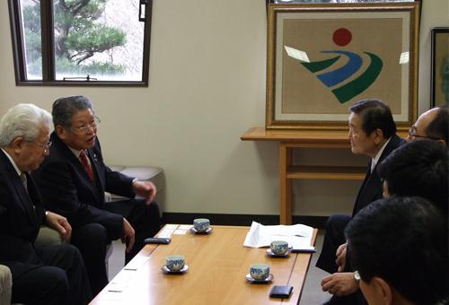 松本市長と安道会長