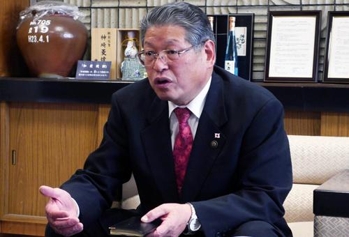 神埼市 市長 松本茂幸様