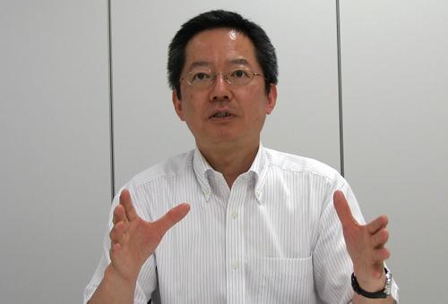 月刊HACCP 編集部長の岩本嘉之様