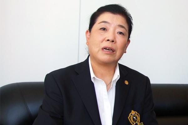 一般社団法人 日本女子プロゴルフ協会 理事 トーナメント事業部担当 森本 多津子様