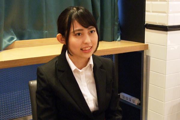 内定者インタビュー 城西大学 薬学部 医療栄養学科 松田 美由紀様