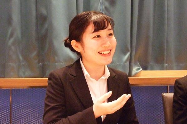 内定者インタビュー 織田栄養専門学校 坂上 佳乃様