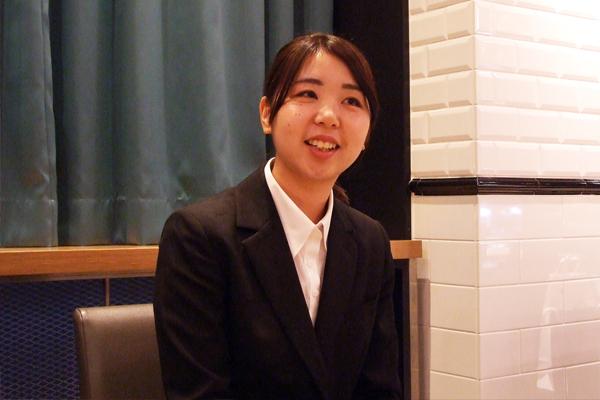 内定者インタビュー 相模女子大学   栄養科学部   管理栄養学科 土屋 瑞希様