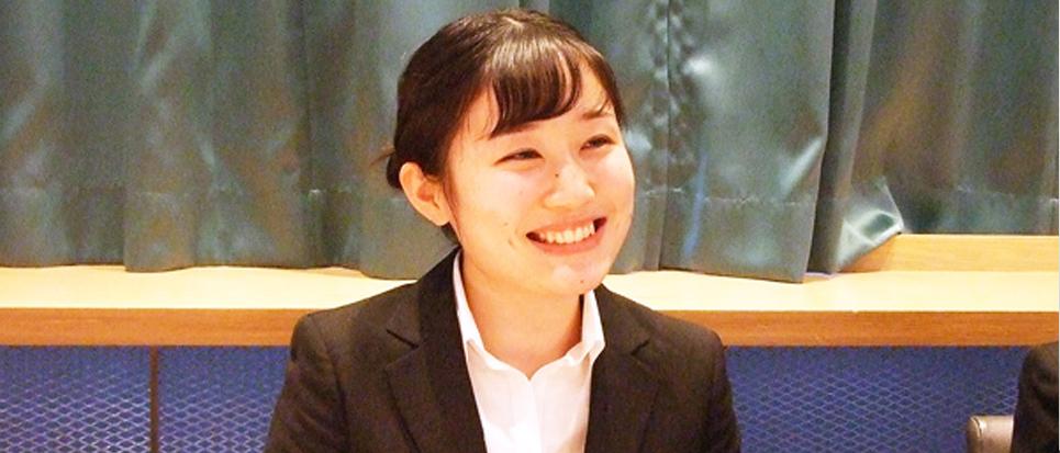 内定者インタビュー|【2020年卒】織田栄養専門学校 坂上 佳乃様へのインタビュー