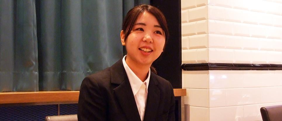 内定者インタビュー|【2020年卒】相模女子大学   栄養科学部   管理栄養学科 土屋 瑞希様へのインタビュー