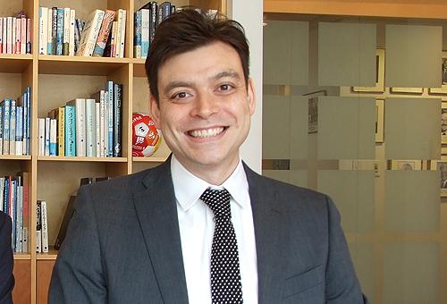 ノルウェー大使館 通商技術部 マーケットアドバイザーのミカール・ルイス・ベルグ様
