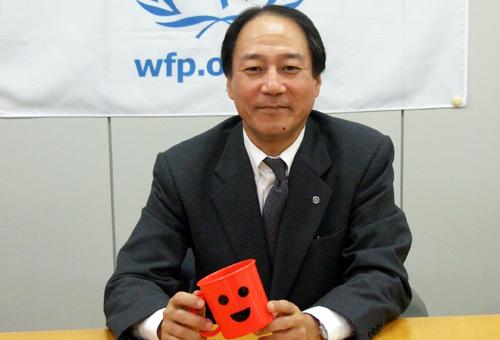 国連WFP協会 事務局長の鈴木邦夫